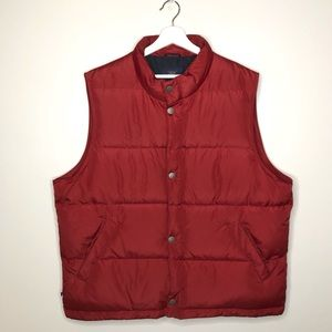 MEN'S 365 BROOKS BROTHER Red Vest